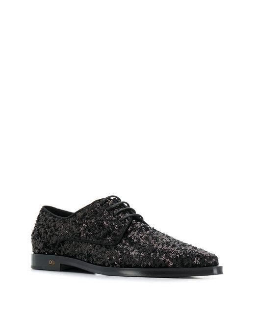 Dolce & Gabbana ダービーシューズ Black