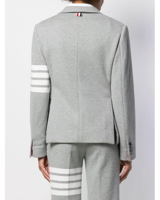 Thom Browne 4bar スポーツコート Gray