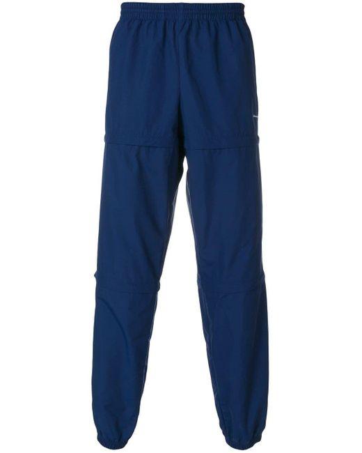 メンズ Balenciaga トラックパンツ Blue