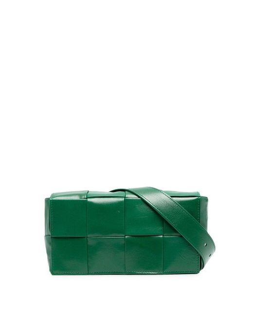 Поясная Сумка С Плетением Intrecciato Bottega Veneta для него, цвет: Green