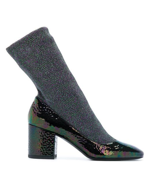 Premiata   Green Glitter Sock Boots   Lyst