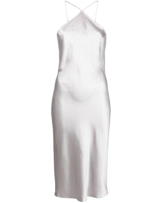 Fleur du Mal ホルターネック スリップドレス Metallic