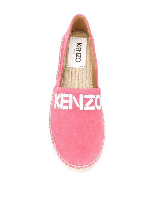 KENZO ロゴ エスパドリーユ Pink