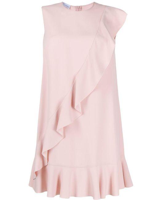 RED Valentino ラッフル ドレス Pink
