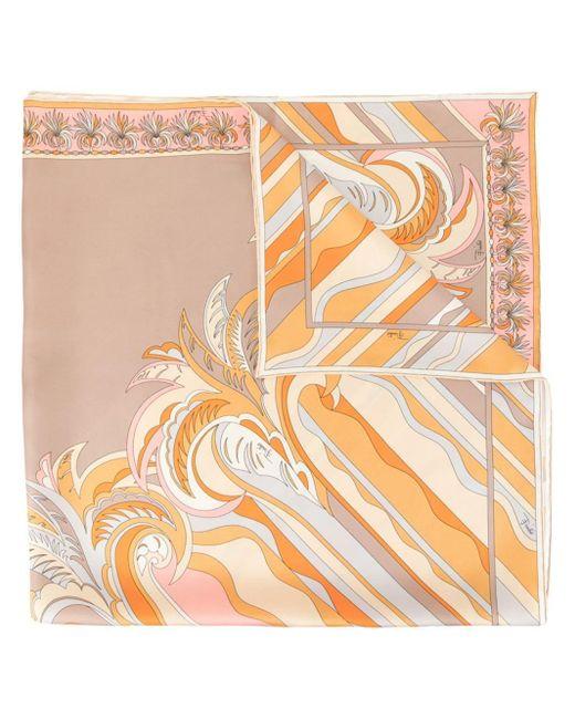 Emilio Pucci Rivera プリントスカーフ Multicolor