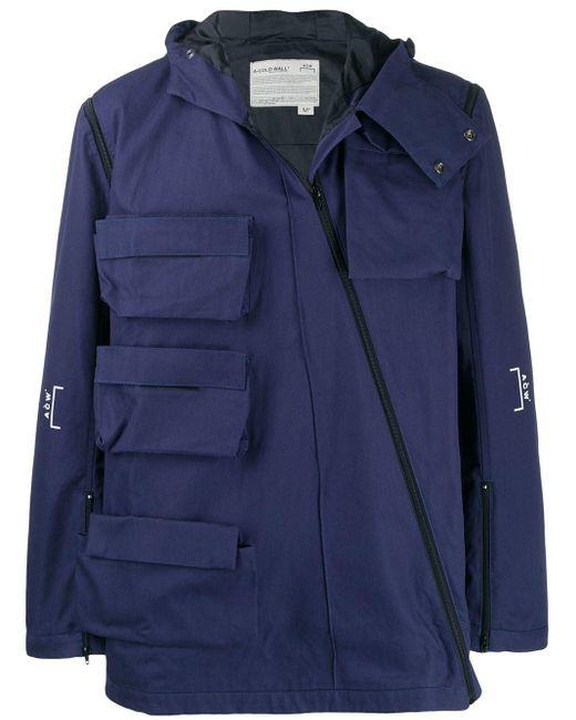 メンズ A_COLD_WALL* マルチポケット ジャケット Blue