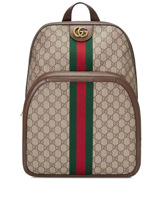 Gucci Multicolor - Ophidia GG Medium Backpack for men