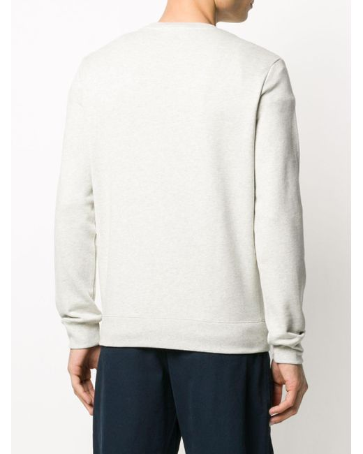 メンズ A.P.C. ロゴ スウェットシャツ White