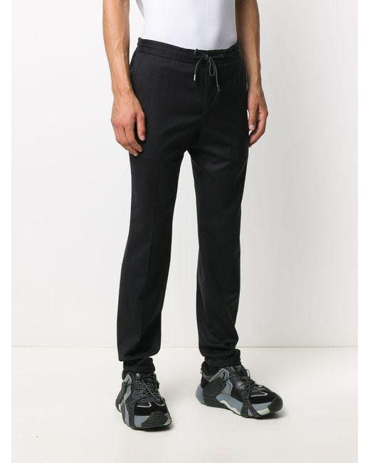 メンズ Z Zegna ドローストリング スリムパンツ Black