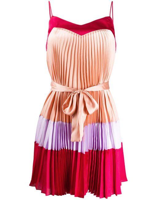 Twin Set プリーツ ドレス Pink