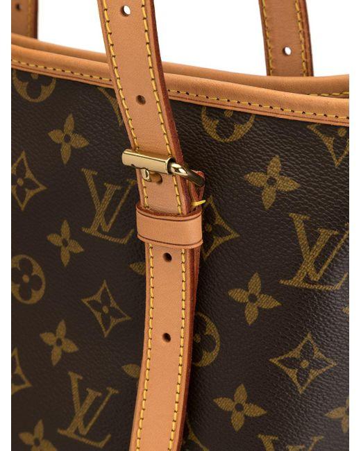 Сумка-ведро 2001-го Года С Монограммой Pre-owned Louis Vuitton, цвет: Brown