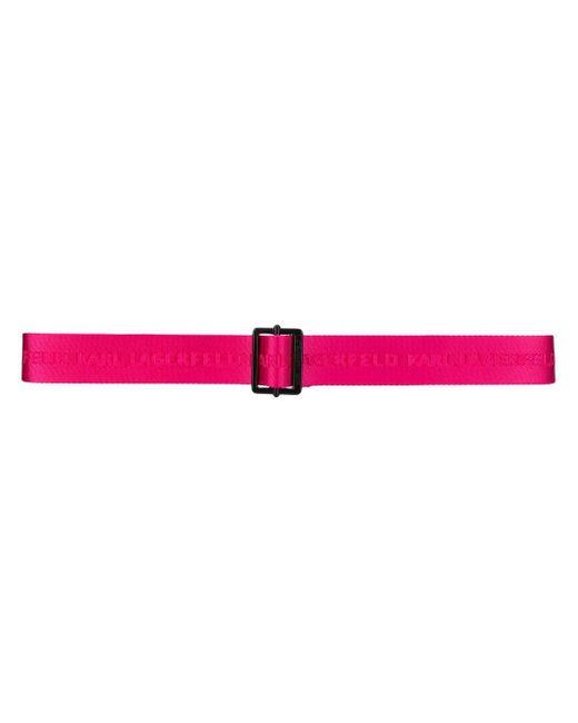 Ремень K/karl С Логотипом Karl Lagerfeld, цвет: Pink