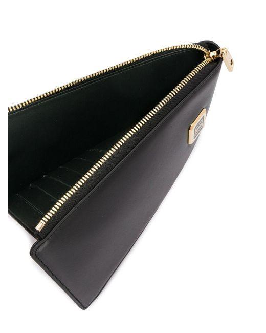メンズ Dolce & Gabbana ロゴ ネック バッグ Black