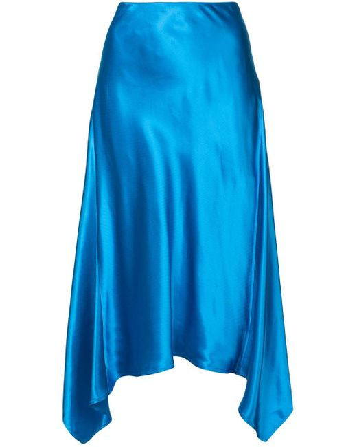 Sies Marjan サテン スカート Blue