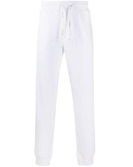 メンズ Emporio Armani スリム トラックパンツ White