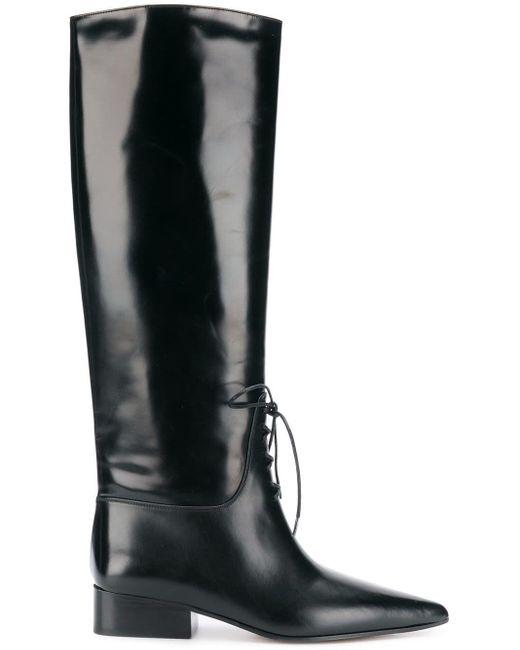 Off-White c/o Virgil Abloh Black High Boots