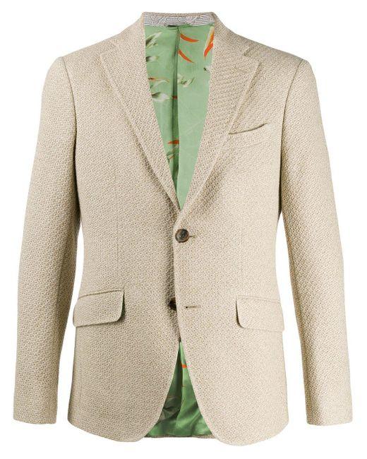 メンズ Etro シングルジャケット Natural