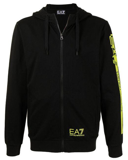 Худи На Молнии EA7 для него, цвет: Black