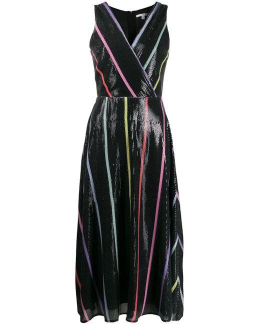 Vestito con paillettes Thea di Olivia Rubin in Black