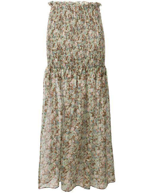 Stella McCartney フローラル スカート Multicolor