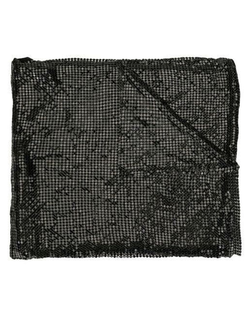 Tom Ford メタルメッシュ スカーフ Black