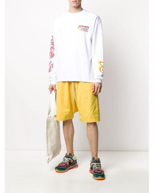 メンズ Gcds ロゴ セーター White
