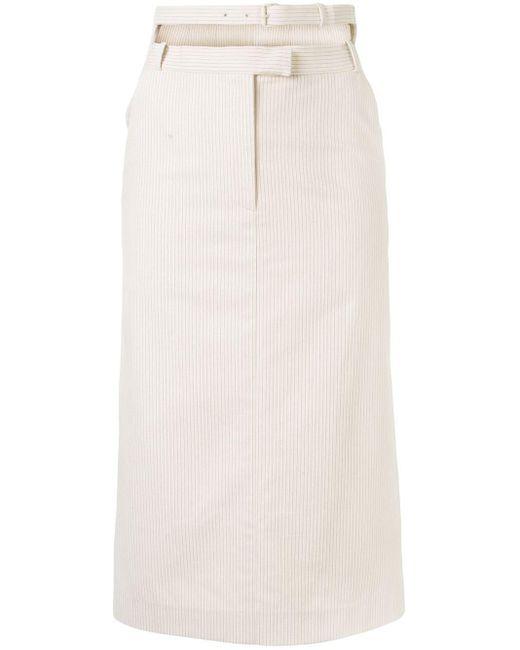 Pushbutton ストライプ スカート Multicolor