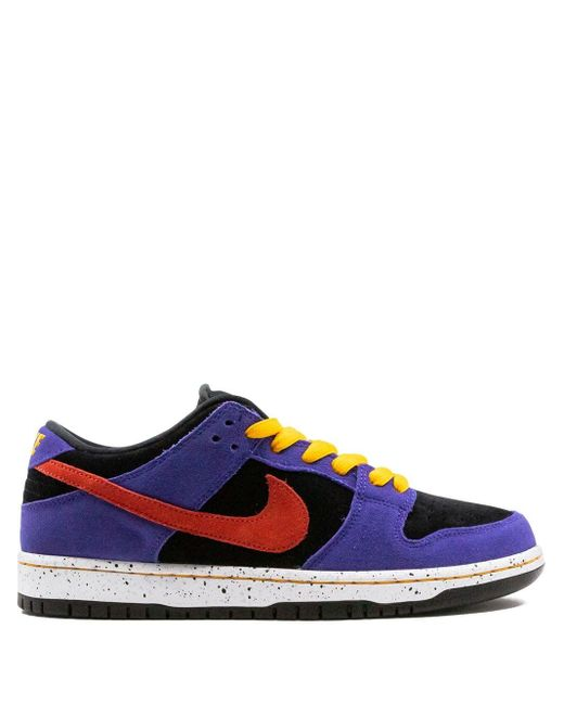 Nike Purple Sb Dunk Low Sneakers for men