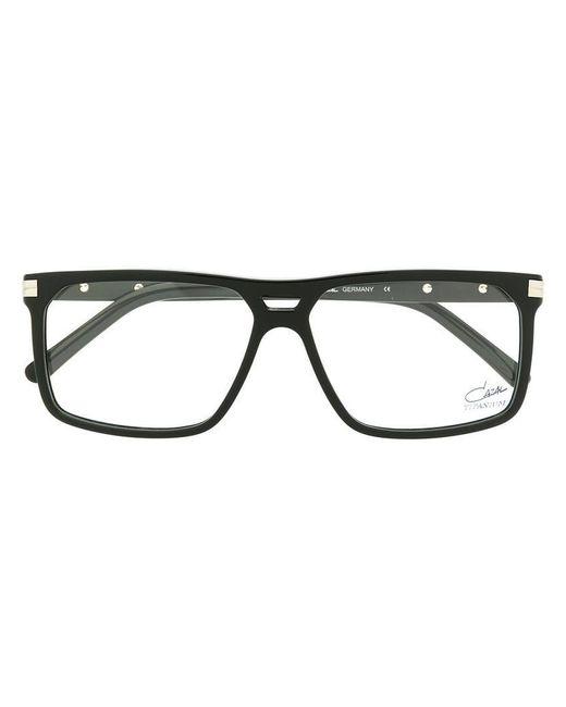50f84323e5b Cazal - Black Square Frame Glasses for Men - Lyst ...