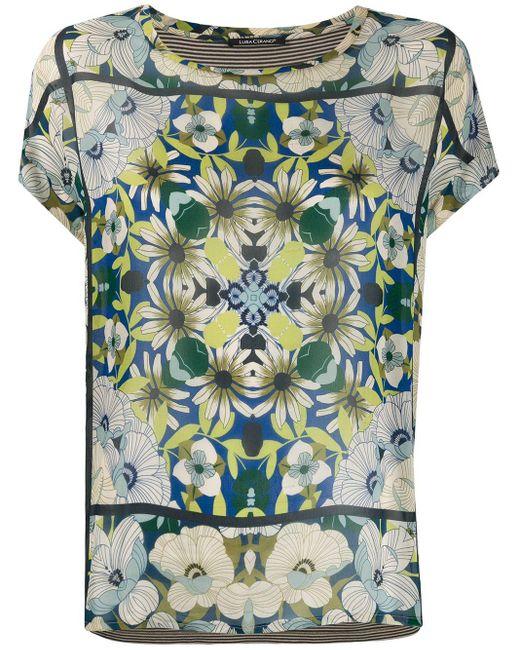 Luisa Cerano フローラル Tシャツ Multicolor