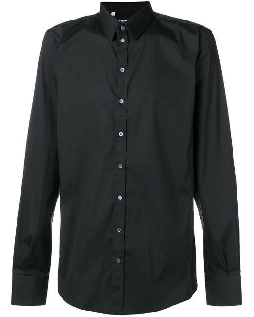 メンズ Dolce & Gabbana クラシックシャツ Black