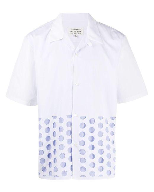 メンズ Maison Margiela ポルカドット シャツ White