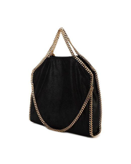 Stella McCartney Black Große 'Falabella' Handtasche