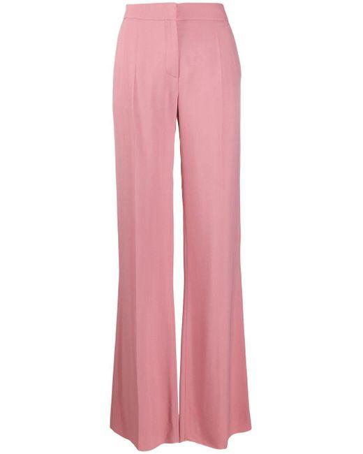 Valentino テーラード フレアパンツ Pink