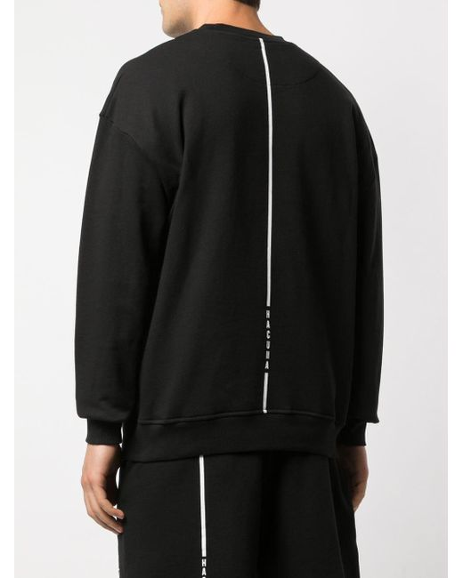 メンズ Haculla Disconnection スウェットシャツ Black