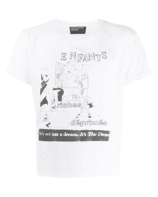 メンズ Enfants Riches Deprimes プリント Tシャツ White