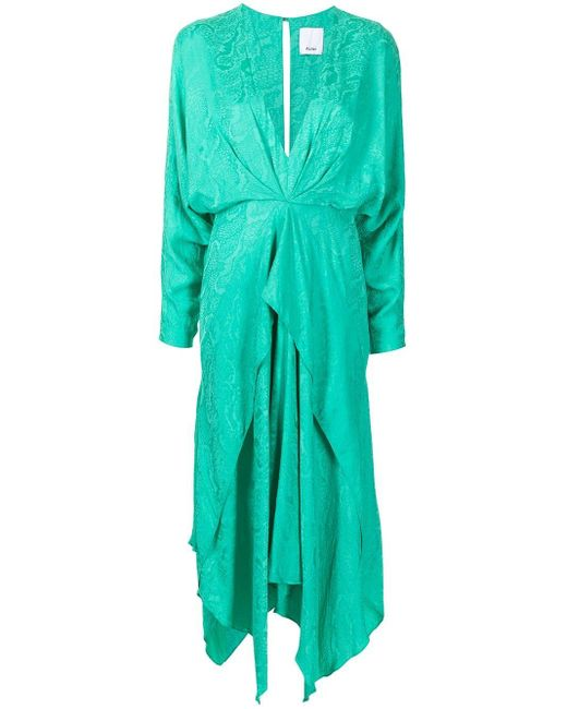 Acler シフトドレス Green