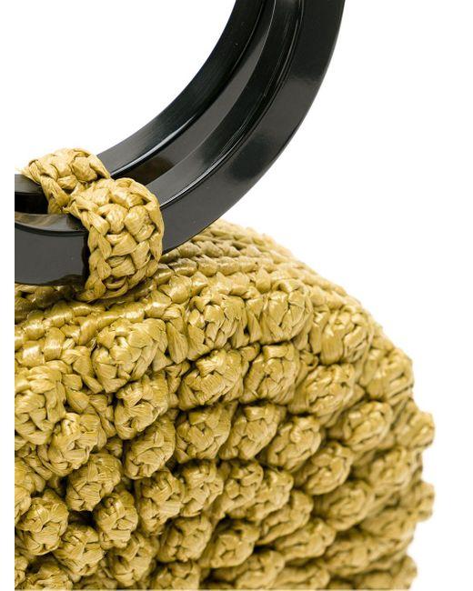 Соломенный Клатч Popcorn В Технике Кроше Serpui, цвет: Multicolor