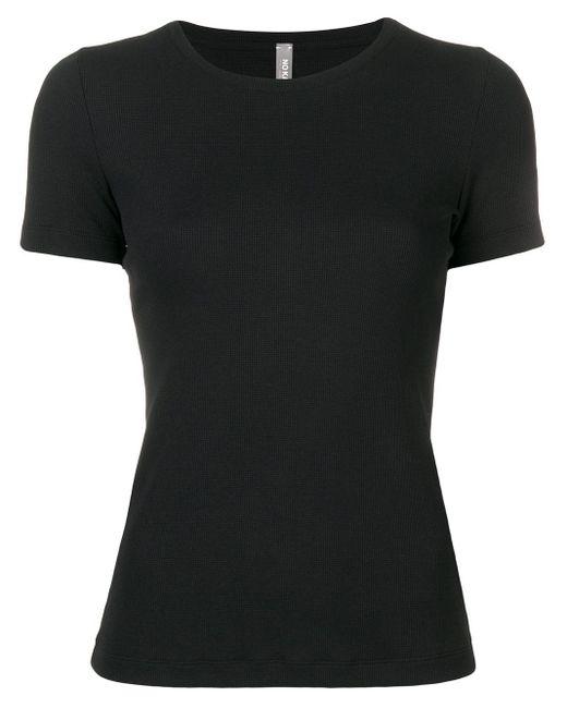 No Ka 'oi Black Tape Sleeve Fitted T-shirt
