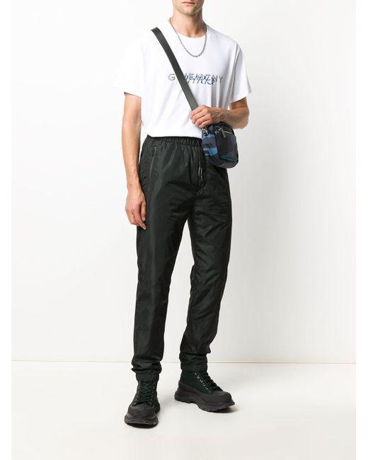 メンズ Givenchy テーパード トラックパンツ Black