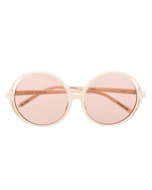 Linda Farrow Bianca ラウンド眼鏡フレーム Multicolor