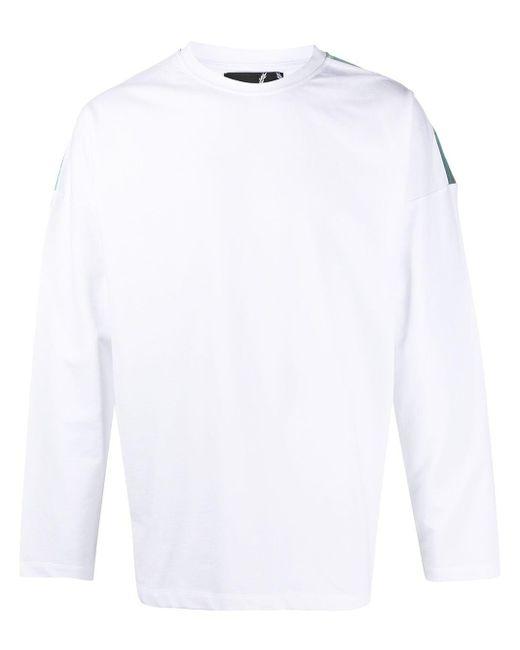 メンズ Fred Perry ロゴ スウェットシャツ White