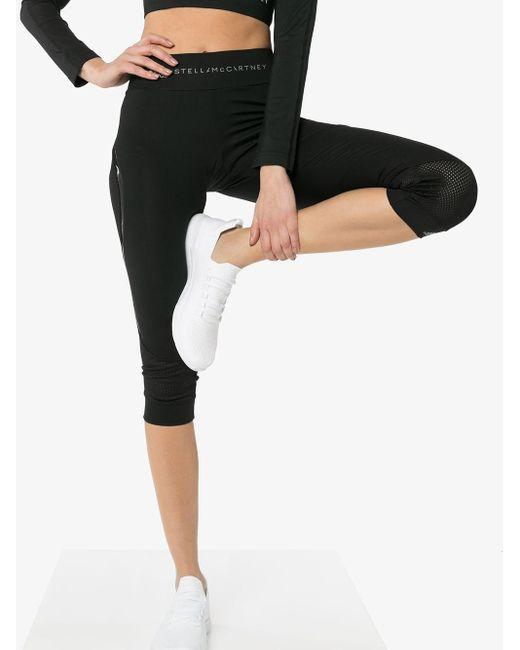 Adidas By Stella McCartney クロップド レギンス Black