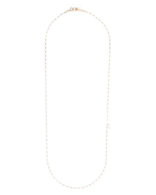Collier à design perlé Isabel Marant en coloris White
