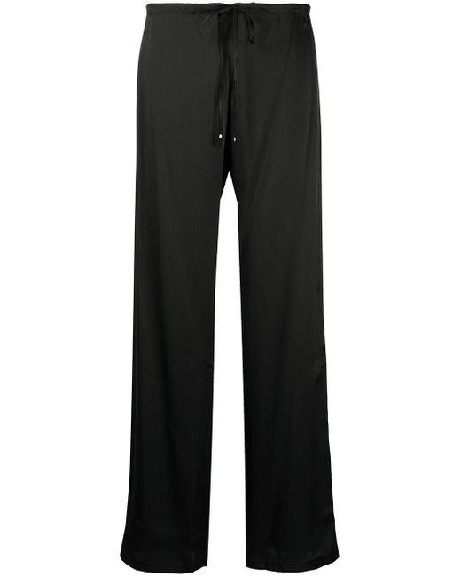 La Perla シルク ストレート パジャマパンツ Black