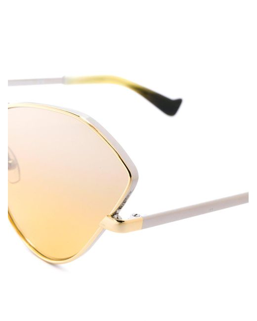 In Ant Lyst Fluxus Metallic Grey Sunglasses qtxO010d