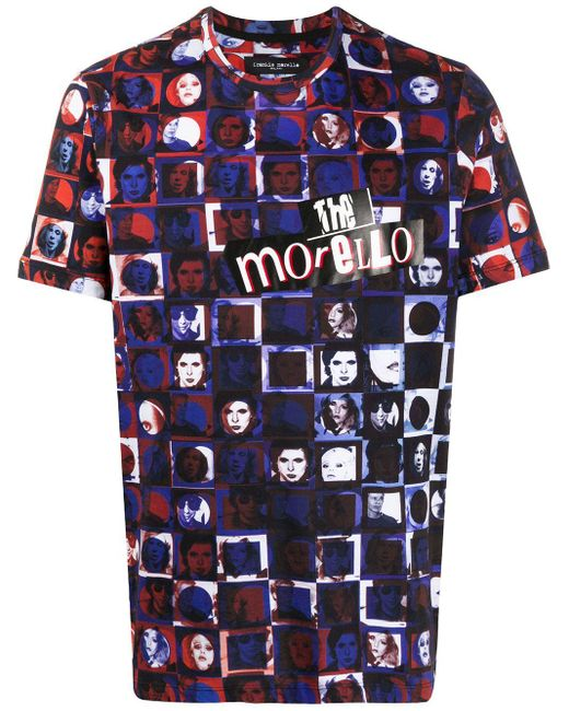 メンズ Frankie Morello The Morello Tシャツ Blue