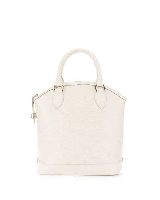 Сумка-тоут Lockit Pre-owned Louis Vuitton, цвет: White