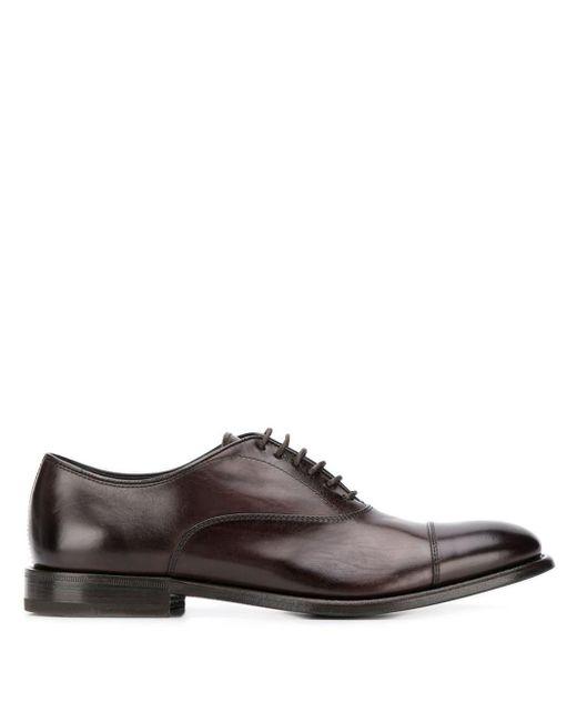 Туфли Оксфорды Henderson для него, цвет: Brown