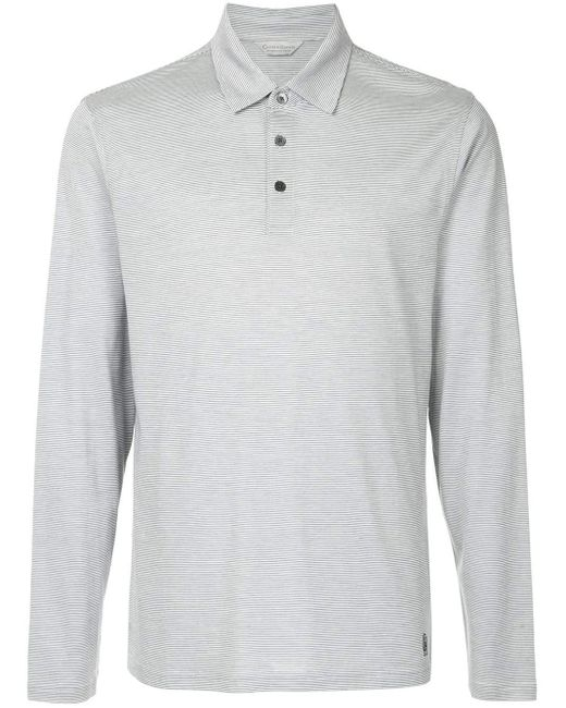 メンズ Gieves & Hawkes ストライプ ポロシャツ Multicolor